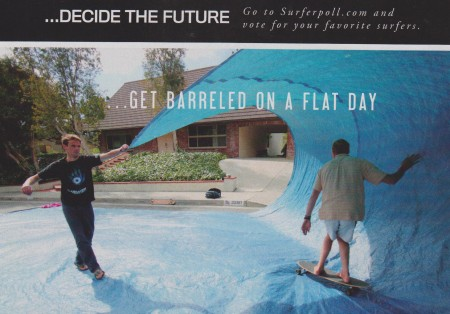 As seen in the October 2010 issue of Surfer Magazine