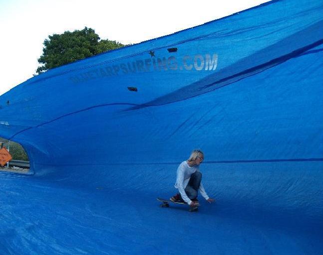 Monster Tarp Surf Pipes!!