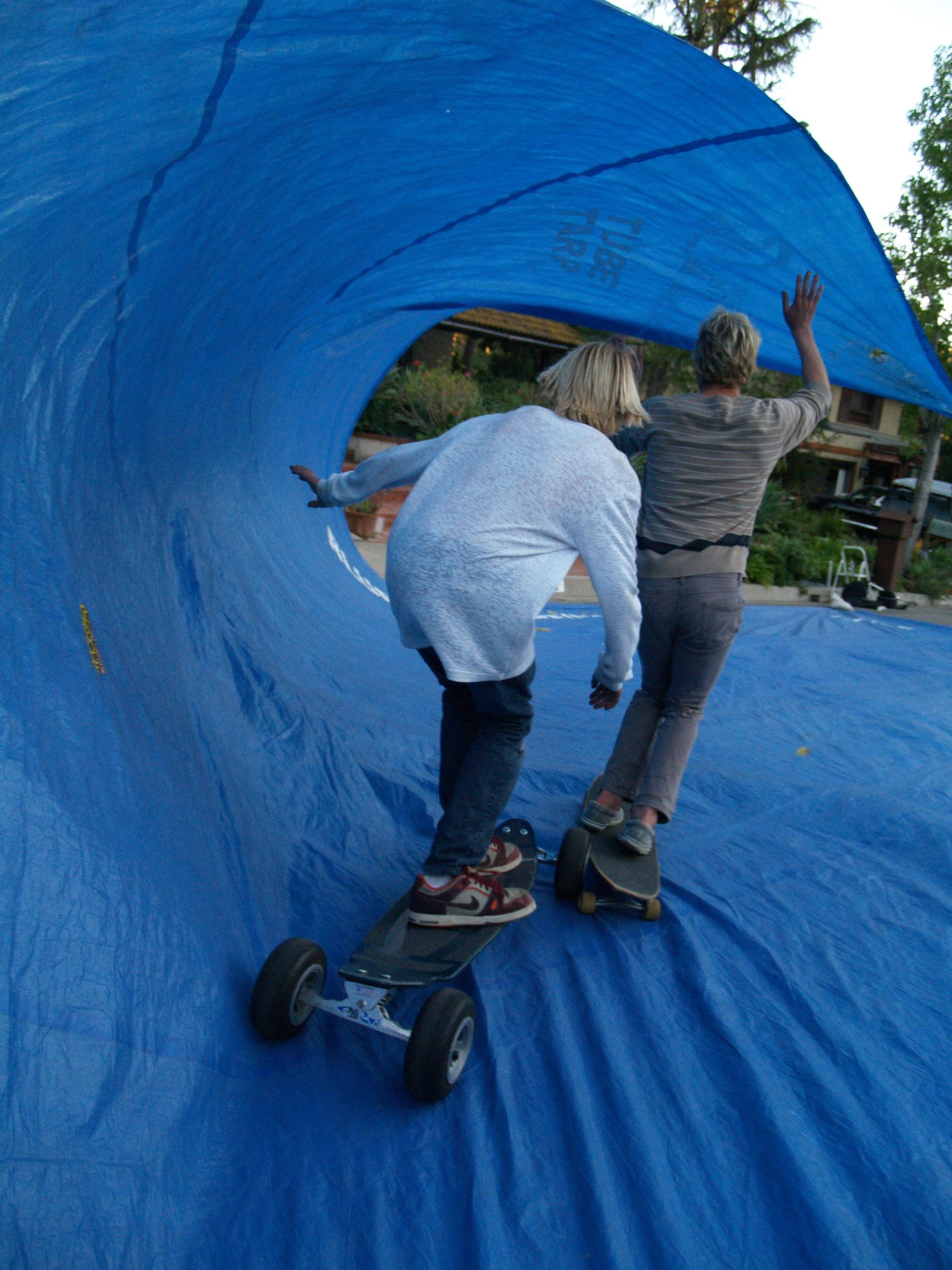 Tarp Surfing 2 At A Time
