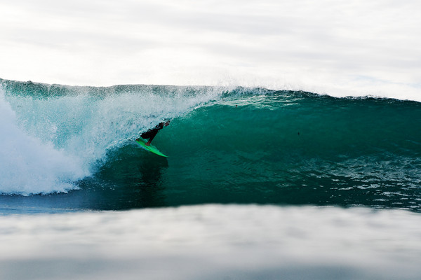 Tarp Surfers Surfing