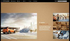 Subaru Brochure... Tarp Surfing Downtown LA