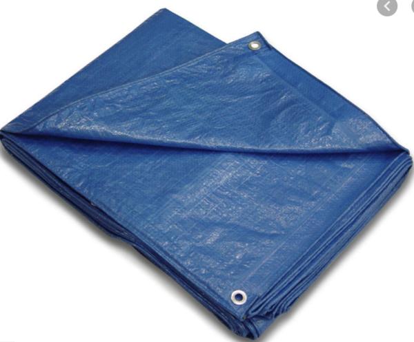 Folded Up Tarp